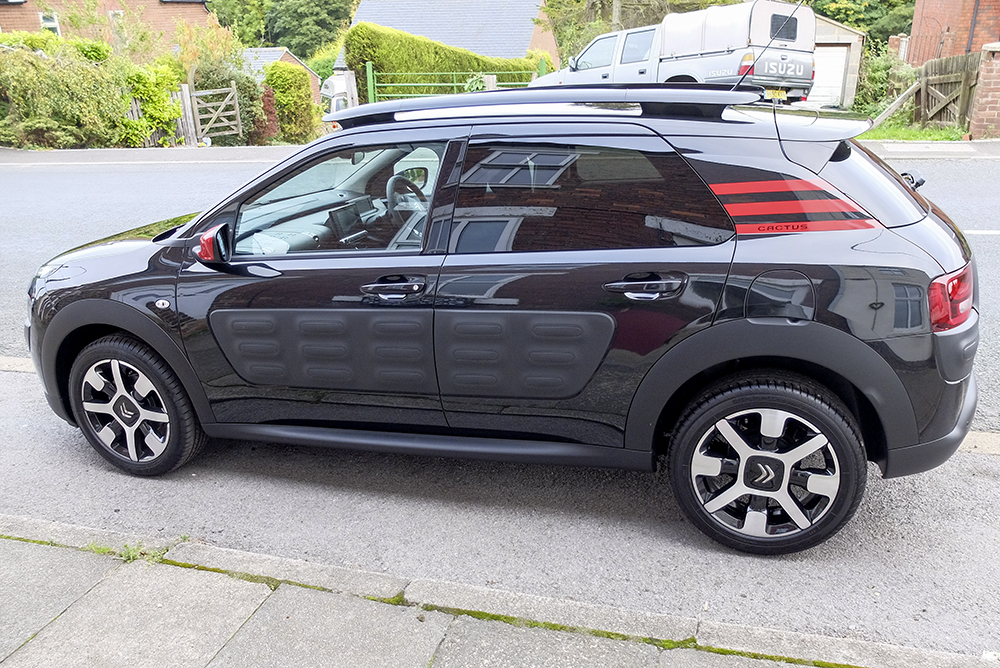 my baby in black citroen c4 cactus forums